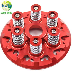 CNC Motorcycle Spare Parts Dry Clutch Pressure Plate With Teeth