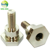 Copper C81400 CNC Turning Parts Power Terminal with Nickel Plating