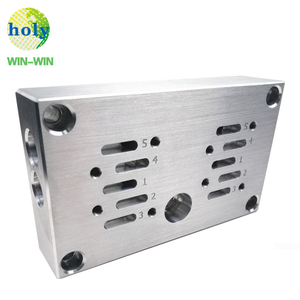 Professional Custom Metal Cnc Machining Aluminum 6061 Parts with Brushed