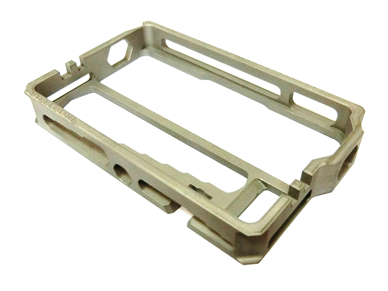 420 Stainless Steel with Heat Treat CNC Milling Parts Frame