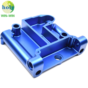 Customized Blue Anodizing Mortising Body 6083 Aluminum CNC Machining Parts
